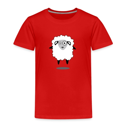 Bleet Sheep (floating) - Kids' Premium T-Shirt