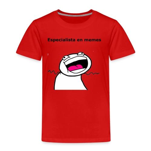 Especialista en memes - Camiseta premium niño