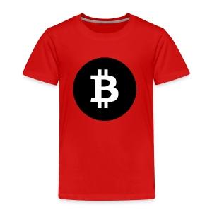 I Love Bitcoin - Kinder Premium T-Shirt