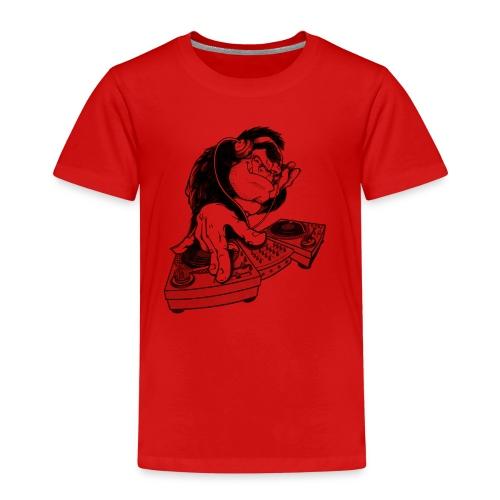 Ape DJ - Premium T-skjorte for barn