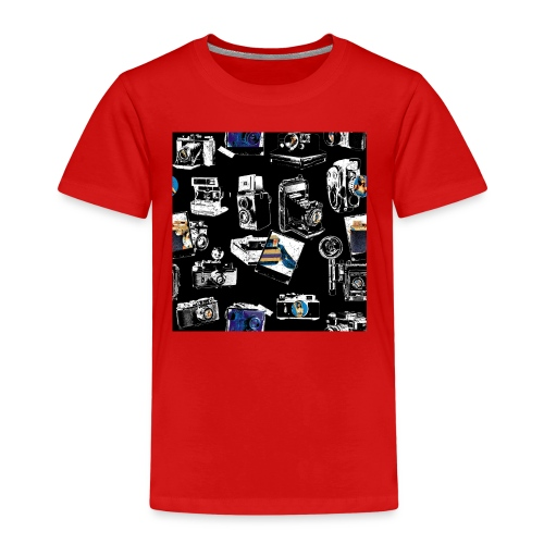 Vintage Kameraer - Premium T-skjorte for barn