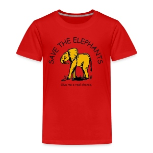 Babyelefant - Save The Elephants - Kinder Premium T-Shirt