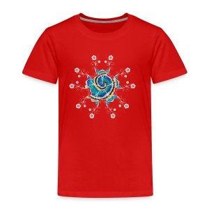 Flower Spiral - Kids' Premium T-Shirt