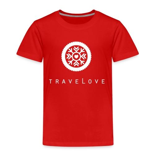 traveLove weißer Aufdruck - Kinder Premium T-Shirt