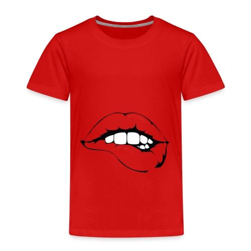 Kussmund - Kinder Premium T-Shirt