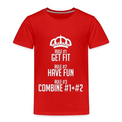 FITNESS RULES - Camiseta premium niño