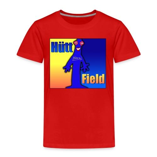 Hüttfield-Logo - Kinder Premium T-Shirt
