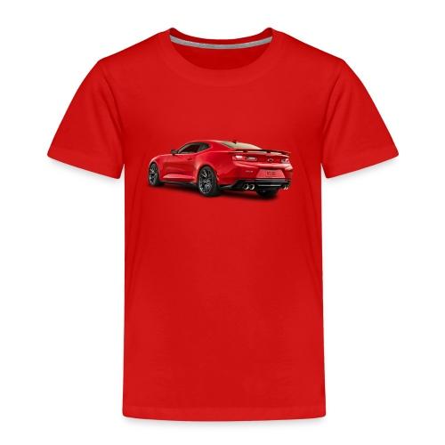 Red Camaro ZL1 - Premium-T-shirt barn