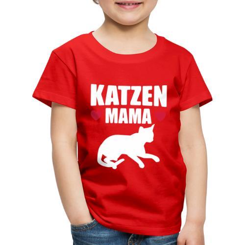 Katzen Mama - Cat Mom - Katze - Kinder Premium T-Shirt
