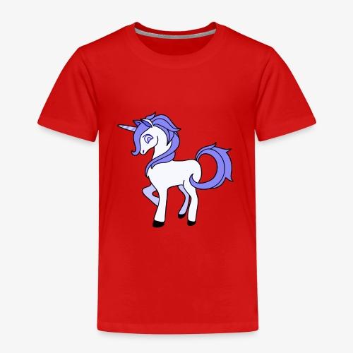 Lila Einhorn - Kinder Premium T-Shirt