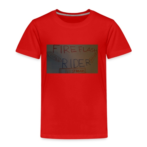 Fireflashriders shirt - Kinder Premium T-Shirt