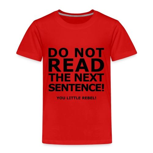 Rebell - Kinder Premium T-Shirt