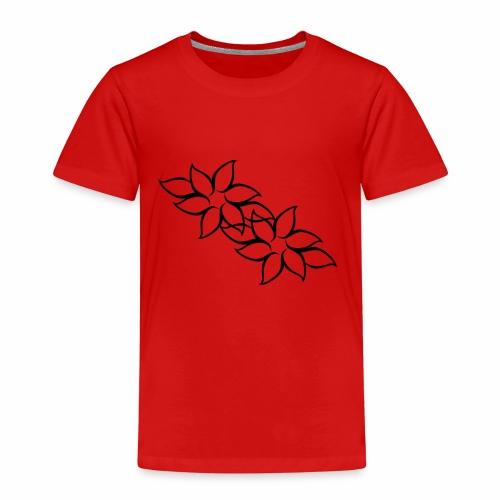 flowers - Børne premium T-shirt