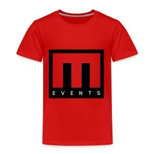 M Events - Camiseta premium niño