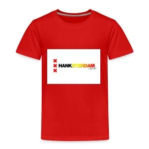 Hanksterdam! Echt wel! - Kinderen Premium T-shirt
