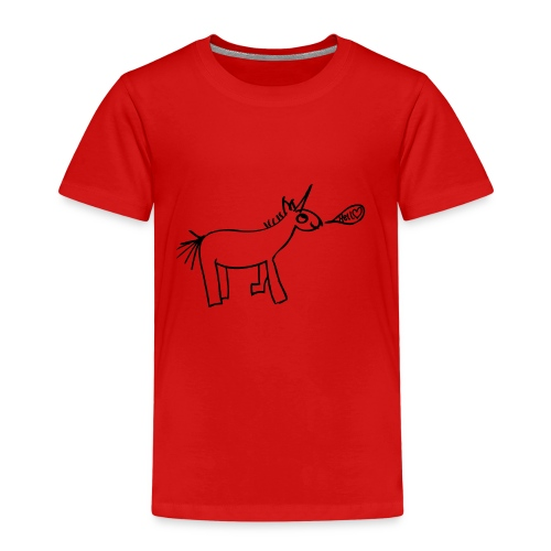 TRASH - Unicorn - Hello - Kinder Premium T-Shirt