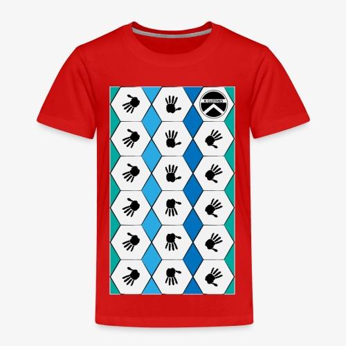 |K·CLOTHES| HEXAGON ESSENCE BLUES & WHITE - Camiseta premium niño