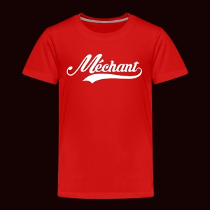mechant_logo_white - T-shirt Premium Enfant