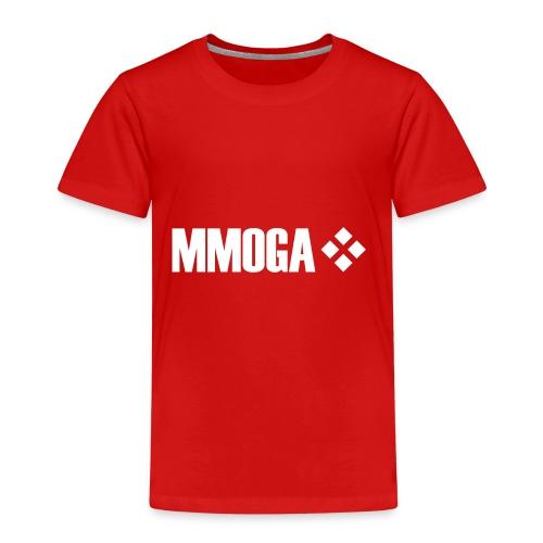 mmoga-logo-white-8817x2008-vector - Kinder Premium T-Shirt