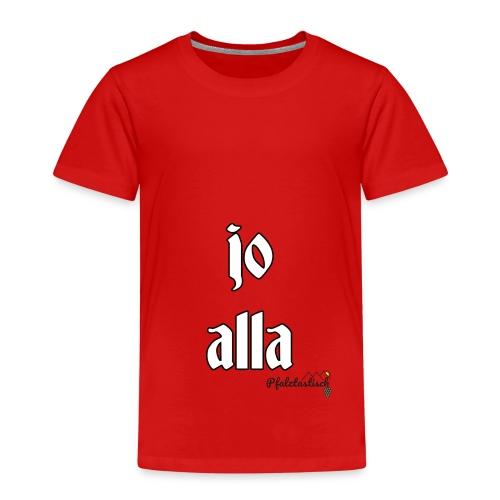 jo alla - Kinder Premium T-Shirt