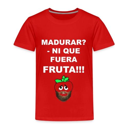 FRUTA - Camiseta premium niño