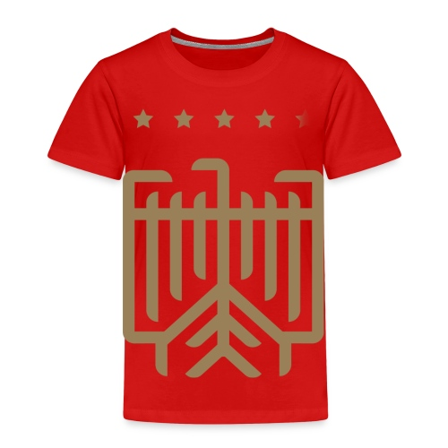 Deutsches WM T-Shirt (gold) - Kinder Premium T-Shirt