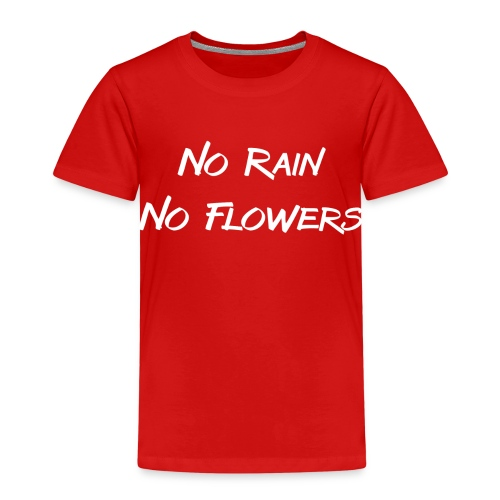 Rain Flowers - Kinderen Premium T-shirt