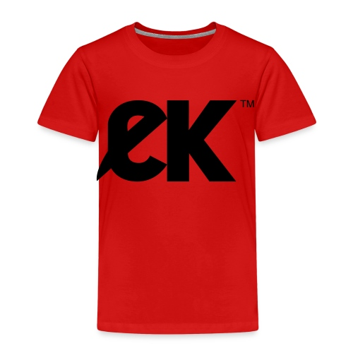 EK logo Black Centred - Kinderen Premium T-shirt