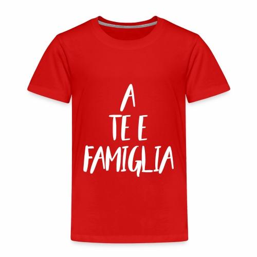 A te e famiglia (White) - Maglietta Premium per bambini