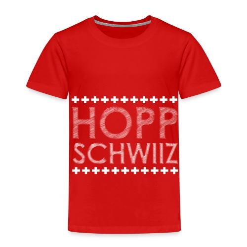 HOPP SCHWIIZ - Kinder Premium T-Shirt