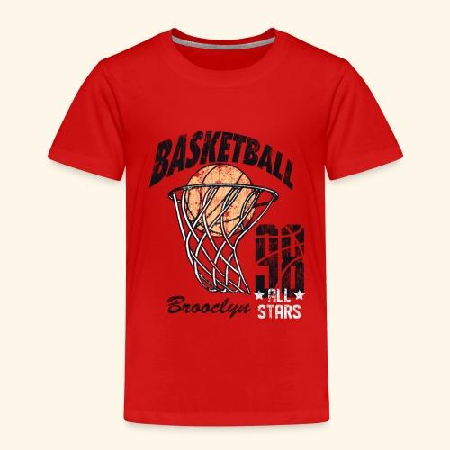 Broclyn alle Stars Basketball .Eine Geschenkidee - Kinder Premium T-Shirt