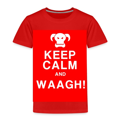 Keep Calm and Waagh! - Børne premium T-shirt