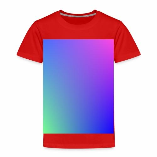 Dégradé tamisé de l'été - T-shirt Premium Enfant