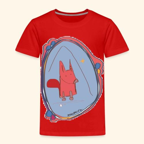 Fox Sketch - Kinder Premium T-Shirt