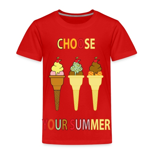 Choose your summer (summercontest) - Maglietta Premium per bambini