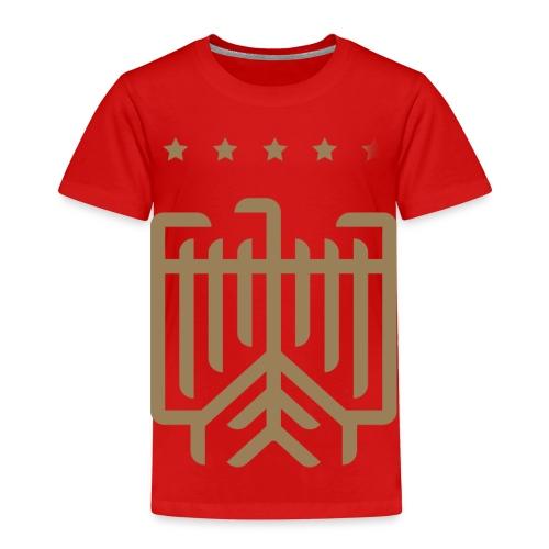 Deutsches WM T-Shirt (gold) - Kinder Premium T-Shirt