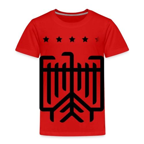 Deutscher WM-Shirt (schwarz) - Kinder Premium T-Shirt