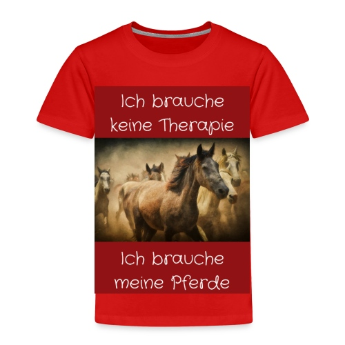 Pferde Tierfreunde, Geschenke, M50, s.unten - Kinder Premium T-Shirt