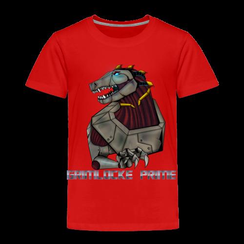 Angry Plushasaur - Kids' Premium T-Shirt