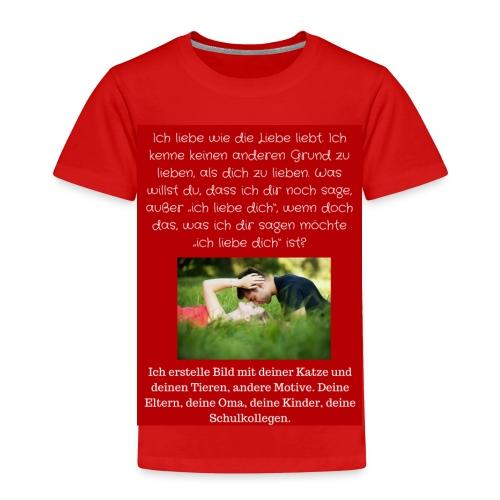 1 T-Shirt Geschenk, Geschenkidee, ändern s. unten - Kinder Premium T-Shirt