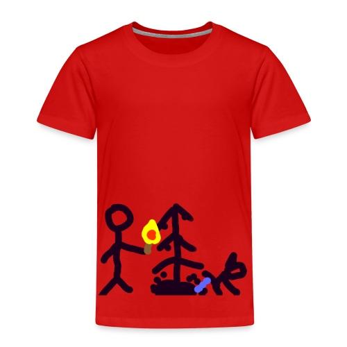 Light Christmas tree - Kinder Premium T-Shirt