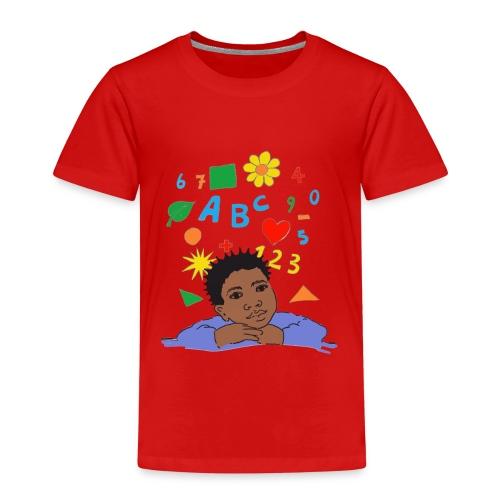 schoolkid 001 - Kinder Premium T-Shirt