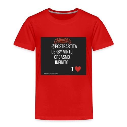 Postpartitaderby vintoorgasmoinfinito - Maglietta Premium per bambini