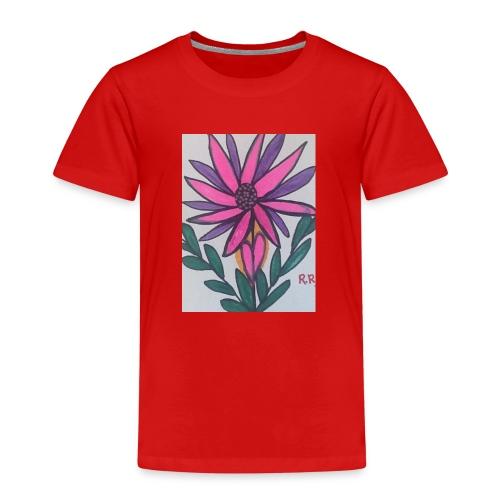 Flor - Camiseta premium niño