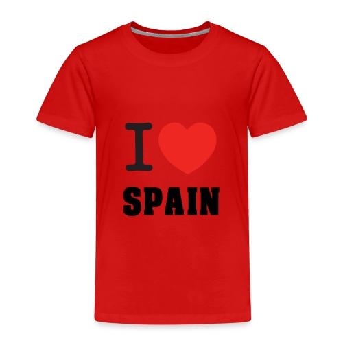 I love spain - Camiseta premium niño