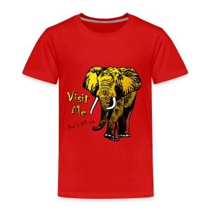 Visit Me - Kinder Premium T-Shirt