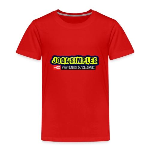 JOGA SIMPLES - Kids' Premium T-Shirt