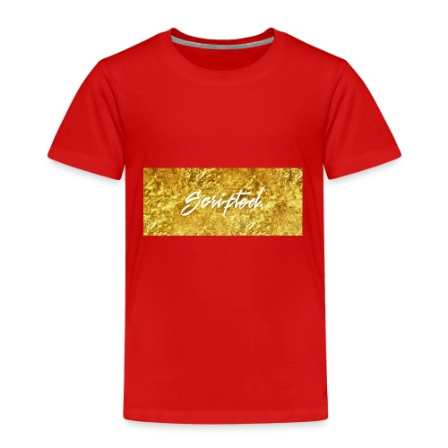 Scripted. Box Logo - Kids' Premium T-Shirt