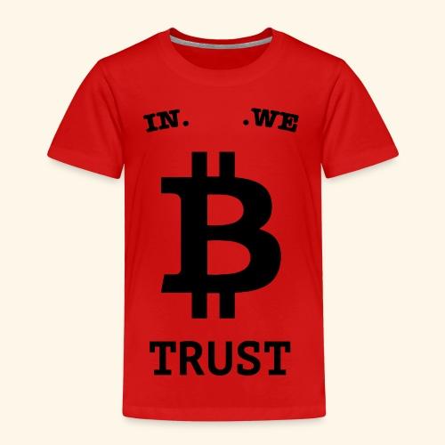 BITCOIN langwerpig - Kinderen Premium T-shirt