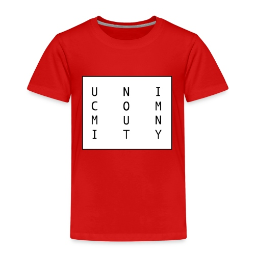 uni logo - Kinder Premium T-Shirt